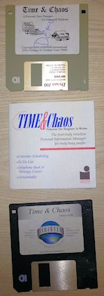 old disks for Time and Chaos
